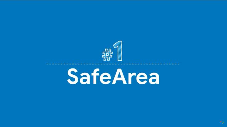 【Flutter】Widget of the Week #1 SafeArea