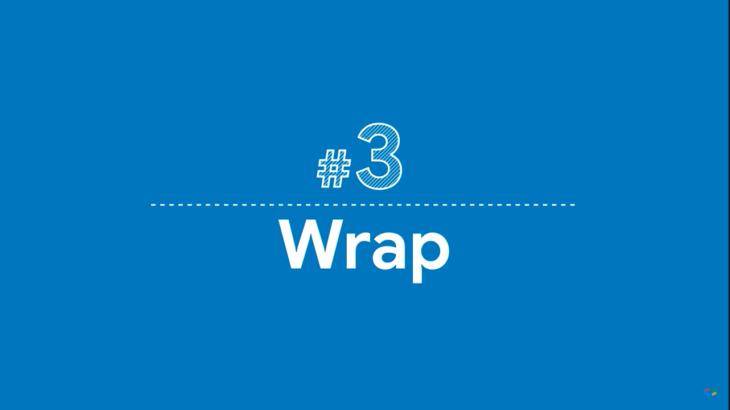 【Flutter】Widget of the Week #3 Wrap
